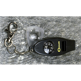 Coghlans 4-Function Whistle grey/black